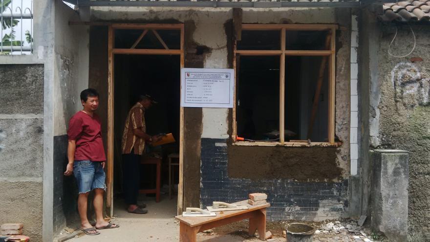 Pembangunan Infrastruktur di Desa Margahayu Selatan dari Program Dana Desa Tahun Anggaran 2017